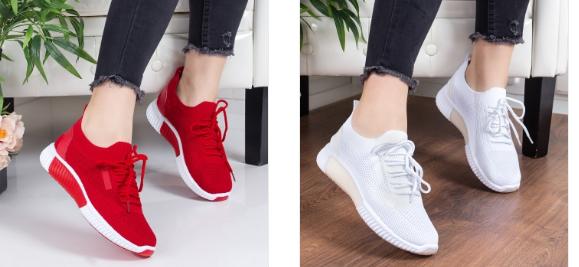 Pantofi sport negri, galbeni, rosii ieftini model nou 2019