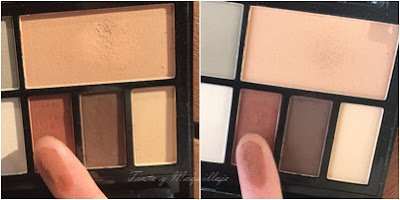 Paleta Light Shade Makeup revolution Kat von D