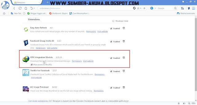 Cara Menampilkan IDM Saat Download di UC Browser Terbaru ...
