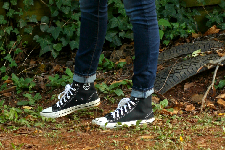 Etiko Fair Trade Converse High Tops