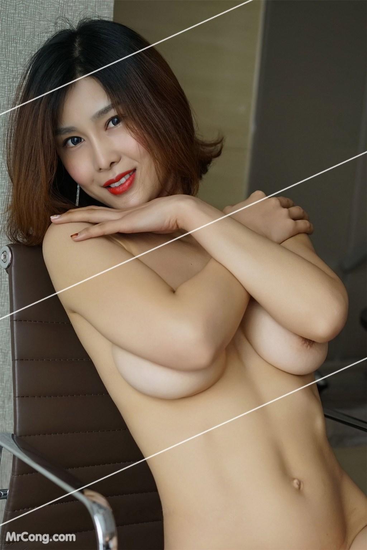 Image Yan-Pan-Pan-Part-3-MrCong.com-046 in post Ngắm vòng một siêu gợi cảm với nội y của người đẹp Yan Pan Pan (闫盼盼) (51 ảnh)