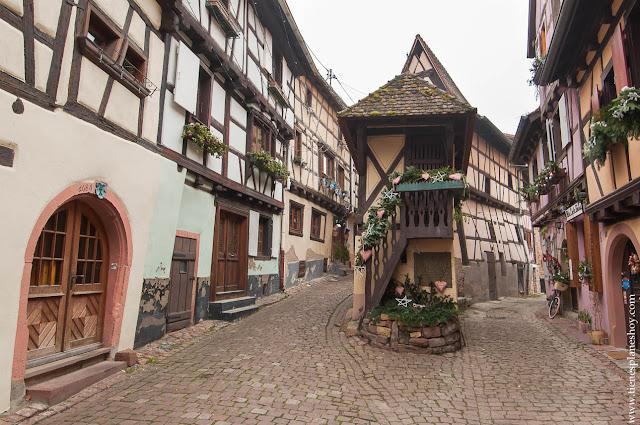 Eguisheim Viaje a Alsacia Francia pueblos mas bonitos