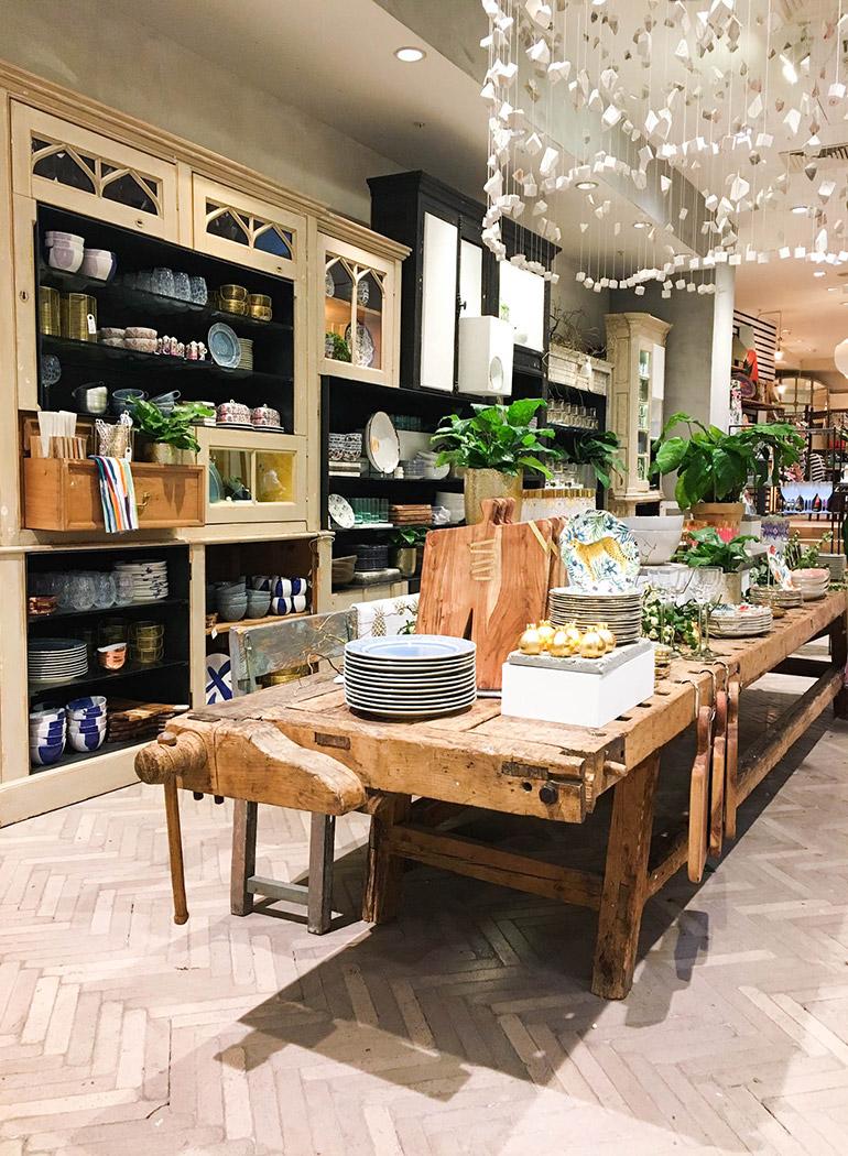 anthropologie-london-shopping-menaje-cristalería-cocina