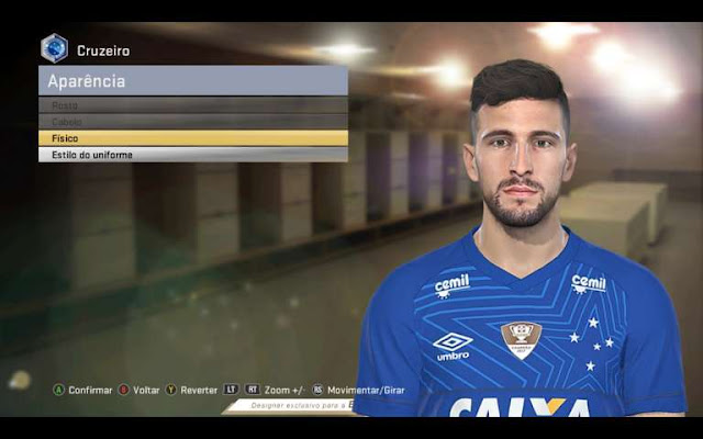 Arrascaeta Face PES 2018