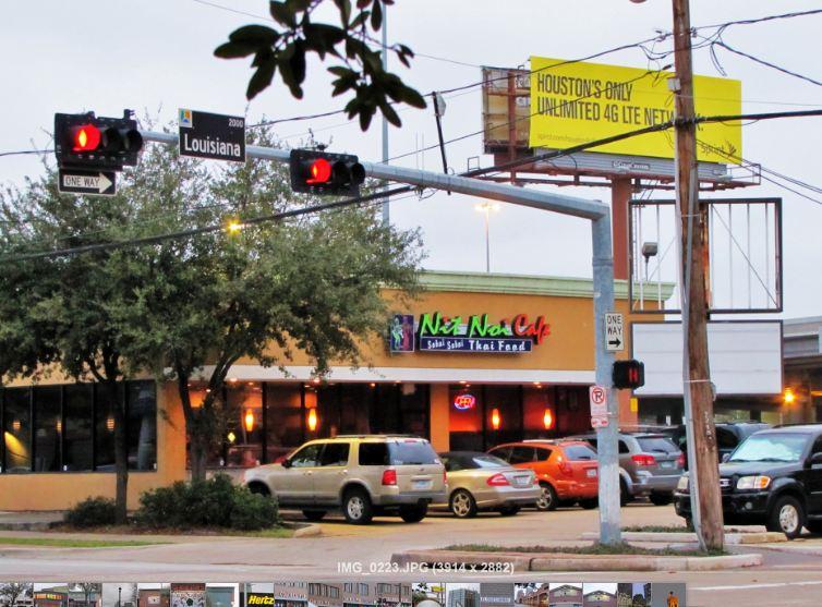 Nit Noi Thai Restaurant Cafe Houston Tx