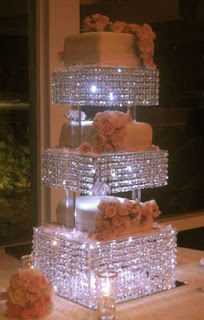 Best Lighted Wedding Cake Stands