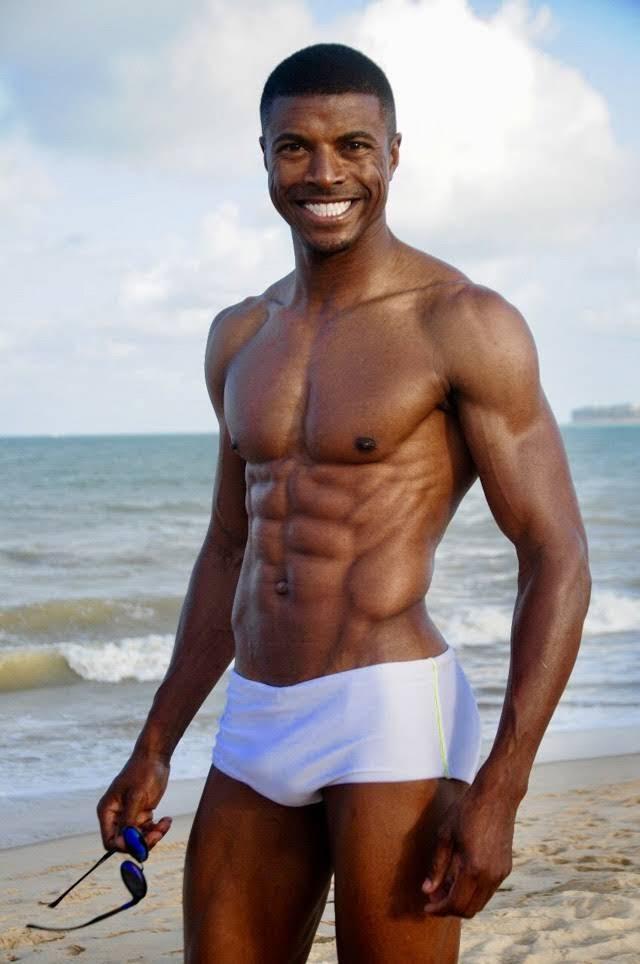 Jonas Silva, o Mister Body Golden Brazil 2018. Foto: Divulgação