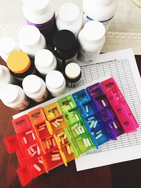 Oct 2017 Favorites: XL 7-day pill organizer