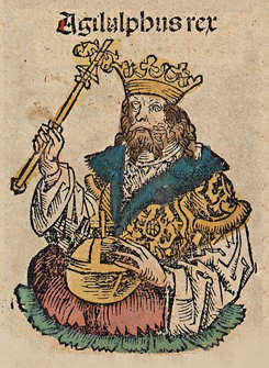 Un palafrené se gite en la dona del rey Agilulfo
