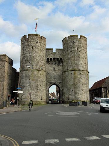 West Gate Canterbury, Kent.