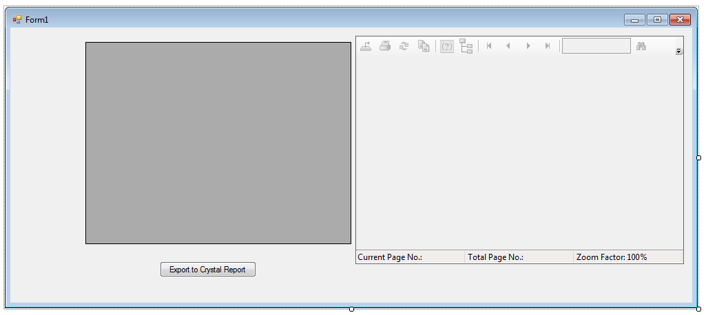 Export Datagridview to Crystal Report in C# Windows Application VB
