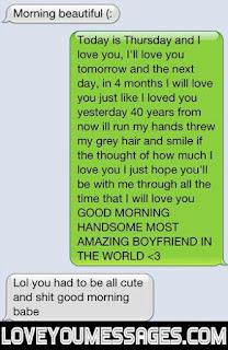 good morning text messages for her him