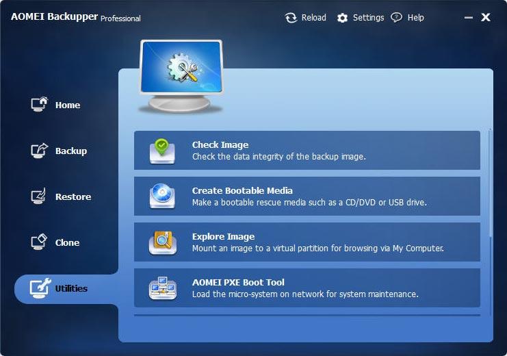 AOMEI Backupper Professional / Technician / Technician Plus / Server
