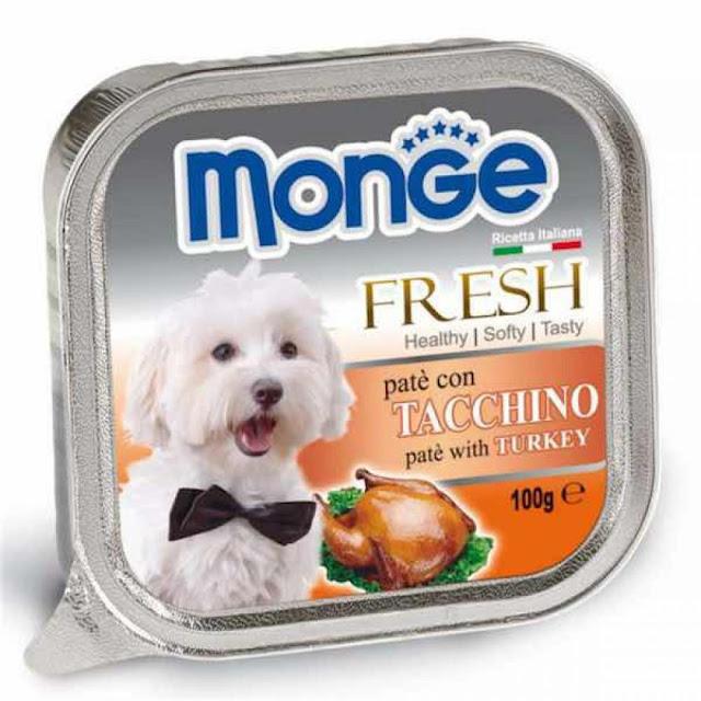 Pate Monge Turkey vị thịt gà tây