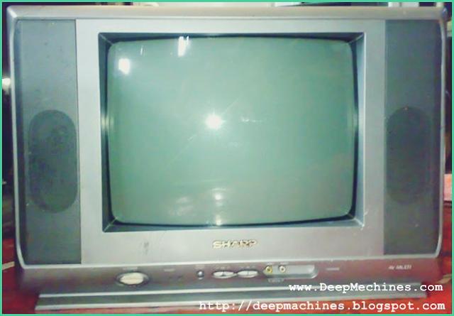 Titik Protek dan Perbaikan Protek (Standby) TV Sharp 14-Inch