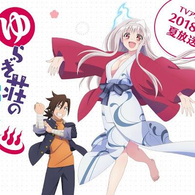 Manga Yuragi-sou no Yuuna-san incluirá una tercera OVA en el tomo 13