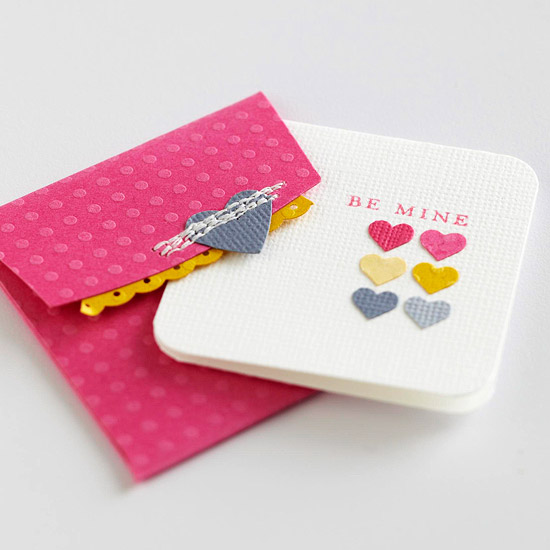 Punched-Heart Cards