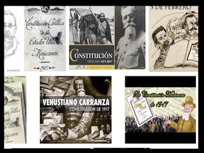 La constitución política de 1917