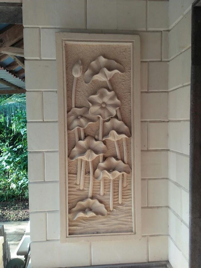 Relief Hiasan Dinding Rumah Pagar taman