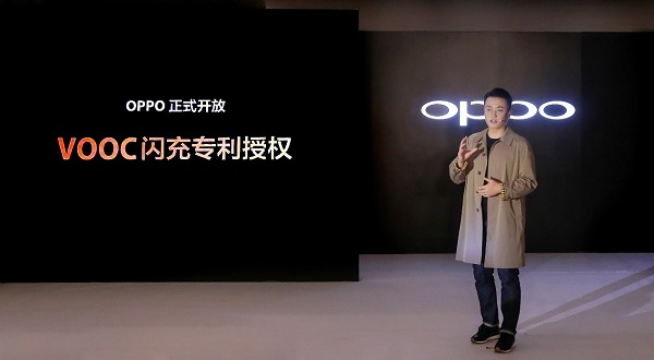 OPPO Officially Licenses VOOC Flash Charge Technology