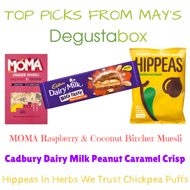Top Picks from May's Degustabox