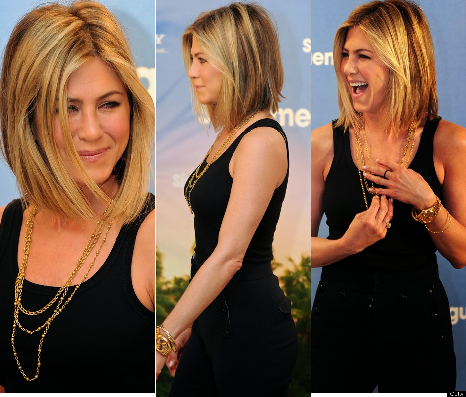 jennifer aniston new short hair bob top and trend hairstyle