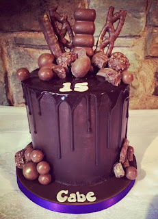 death by chocolate birthday cake