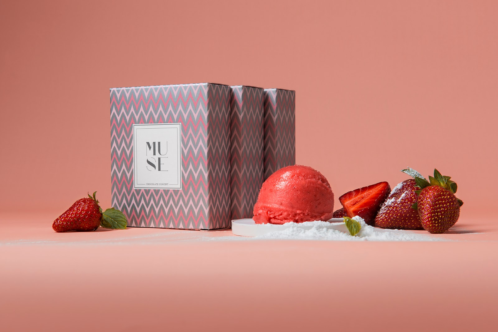 Muse Ice Cream On Packaging Of The World Creative