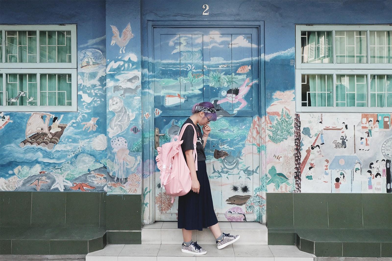 SD Karya Yosef Pontianak Mural | www.bigdreamerblog.com