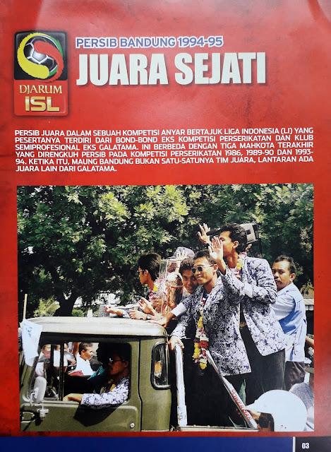 PERSIB BANDUNG 1994-95 JUARA SEJATI