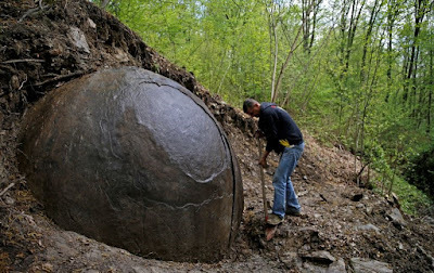 Spherical rock in Bosnia stirs controversy