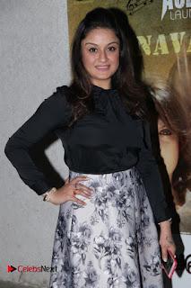Actress Sonia Agarwal Stills in Black Top at Yevanavan Tamil Movie Audio Launch Event  0004.jpg