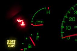 Est-il sécuritaire de conduire avec la lumière d'huile allumé?