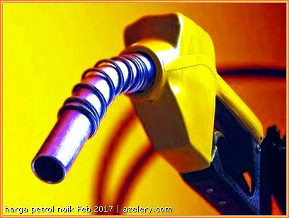 Perbelanjaan Petrol Tanpa Tunai Februari 2017