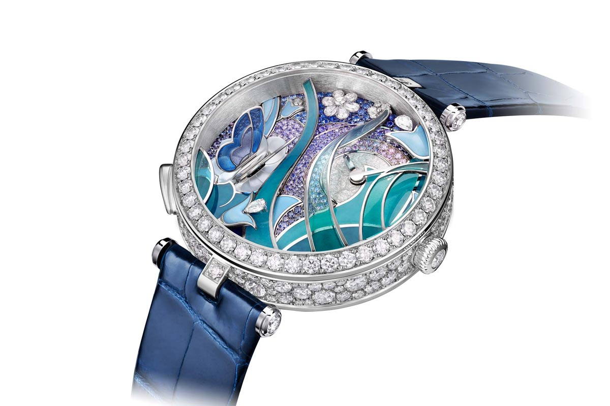 pre sihh 2017 van cleef arpels lady arpels papillon automate time and watches. Black Bedroom Furniture Sets. Home Design Ideas