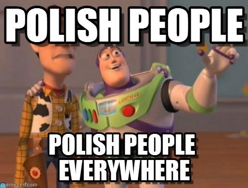 P jak Polacy za granicą