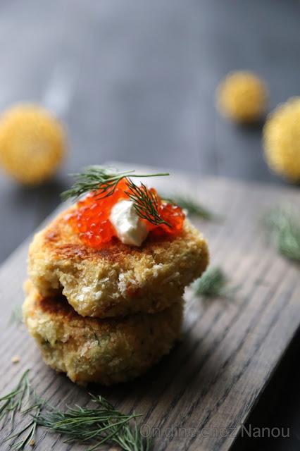 panko , saumon , saumon fumé , pommes de terre , croquettes