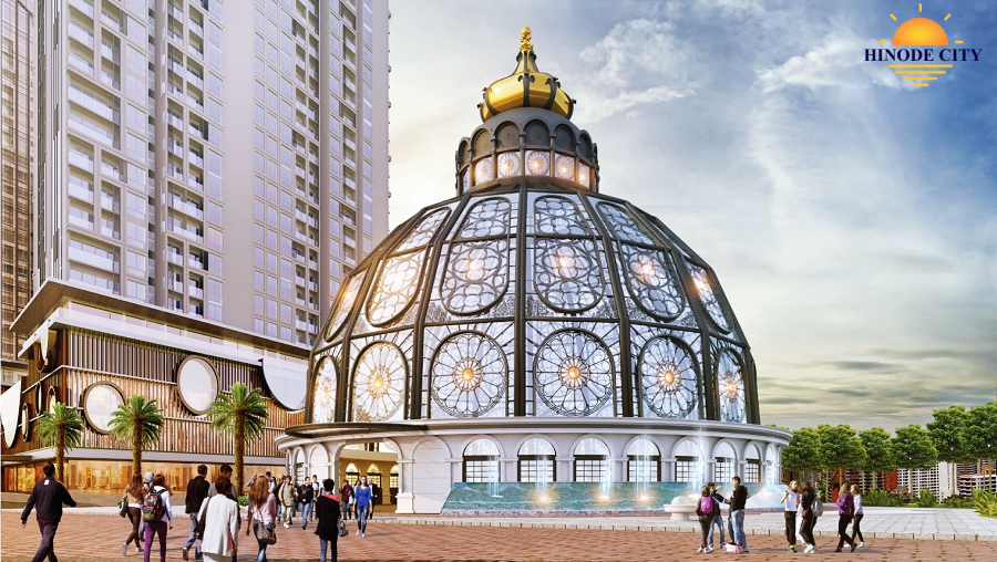 quảng trường dự án 201 Minh Khai