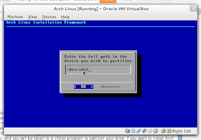 Arch Linux Other Option