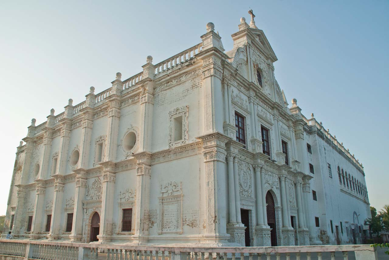 why is st paul church diu india a unique one some interesting