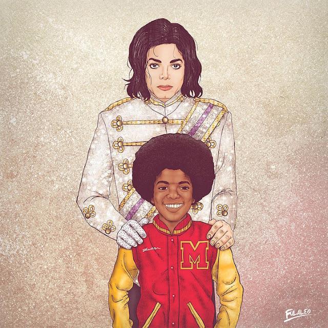 Michael Jackson, adulto e quando criança