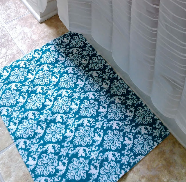 Teal rug #homedecor #TealGreen