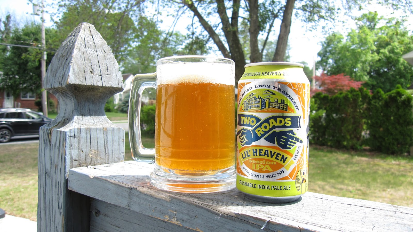 Chad'z Beer Reviews: Two Roads Lil' Heaven Session IPA