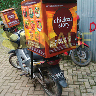 Box delivery motor jogja Chicken