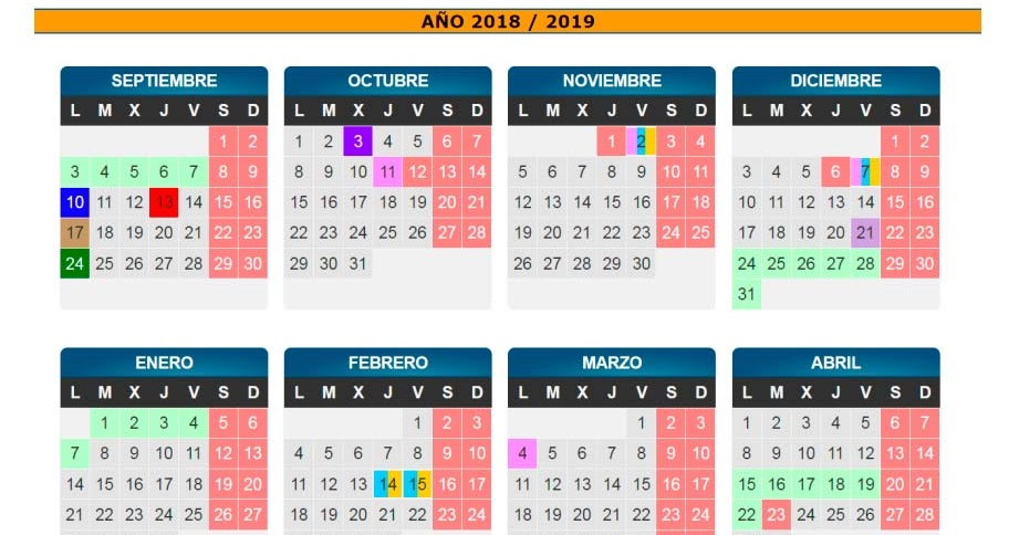 Calendario Escolar 2019 Aragon.A M P A C P Comarca Cuencas Mineras Antes Pablo Serrano