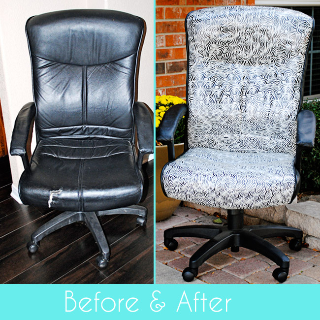 Easiest Chair Makeover Ever.