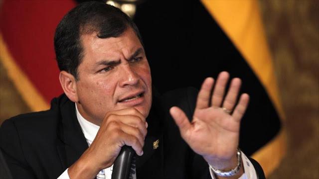 Correa: Líderes progresistas son perseguidos por la derecha