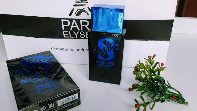 PERFUMES BILLION BLUE JACK POR MEN / VODKA LIMITED EDITION  FOR MEN / PARIS ELYSEES