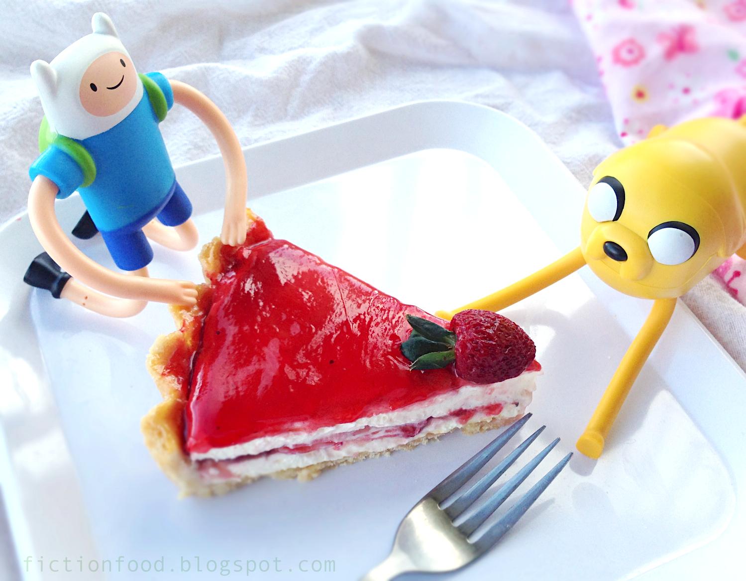 Fiction Food Cafe Royal Tart Adventure Time