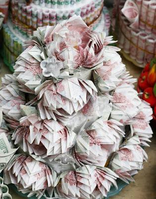20 bó hoa sinh nhật bằng tiền và đô la độc đáo bá đạo